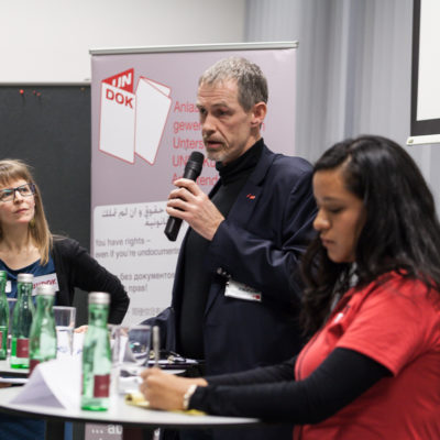 Albert Kyncl UNDOK-Fachtagung 2017 Foto: Carolina Frank